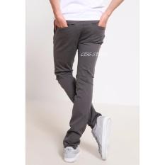 Harga New Celana Chinos Pants Slimfit Grey Origin