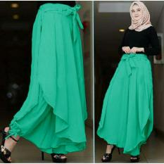 Ladies  [BARU] Celana Kulot Wanita / Kulot Wanita / Long Cullote Pants / Kulot Bagus / Celana Panjang Wanita (litata) 7T - tosca D1C
