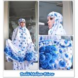Jual New Collection Mukena Bali Rayon Melsa Biru Online Dki Jakarta