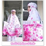 Harga New Collection Mukena Rayon Bali Melsa Pink