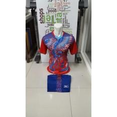 New Coming-Kostum Kaos Sepakbola Futsal Volly Takraw Bahan PE Motif Printing M L XL Plus Celana Pendek 23.22