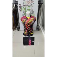 New Coming- Singlet Kostum Kaos Sepakbola Futsal Volly Takraw Bahan PE Motif Printing M L XL Plus Celana Pendek 23.27