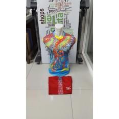 New Coming- Singlet Kostum Kaos Sepakbola Futsal Volly Takraw Bahan PE Motif Printing M L XL Plus Celana Pendek