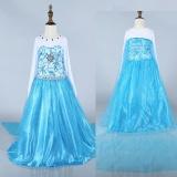 Review Toko Baru Custom Anna Elsa Dress G*rl Lagi Pakaian Anak Anak Bayi Perempuan Pakaian Kostum Gaun Vestidos Putri Gaun Pesta Intl