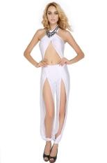 New Cut Fashion Seksi Luar Biasa Jumpsuits Club Dibalut Bodycon Gaun untuk Wanita-Intl