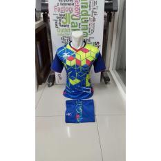 New Design-Kostum Kaos Sepakbola Futsal Volly Takraw Bahan PE Motif Printing M L XL Plus Celana Pendek 24.23