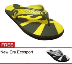 Jual New Era Csa Ecosport Kuning Gratis Sandal Termurah