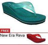 New Era Csa Reva Hijau Gratis Sandal Promo Beli 1 Gratis 1