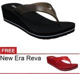 New Era Csa Reva Hitam Gratis Sandal Terbaru