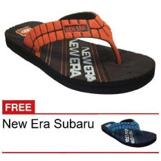 New Era CSA Subaru Coklat + Gratis Sandal