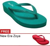New Era Csa Zoya Hijau Gratis Sandal Indonesia