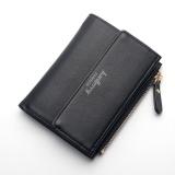 Harga New Fashion Ladies Purse Japan And Korea Buckle Simple Card Package Wallet Black Intl Termahal