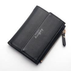 Jual New Fashion Ladies Purse Japan And Korea Buckle Simple Card Package Wallet Black Intl Tiongkok
