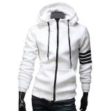 Beli New Fashion Pria Hoodie Merek Rekreasi Sesuai Berkualitas Tinggi Sweatshirt Pria Casual Zipper Hooded Jaket Putih Intl Online