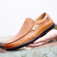 Jual Baru Fashion Pria Sepatu Kulit Sepatu Santai Sepatu Mengemudi Sepatu Kerja Intl Tiongkok Murah