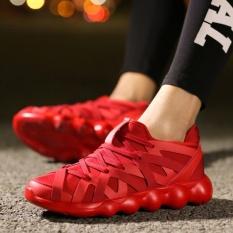 Beli Baru Fashion Pribadi Pria Sport Sepatu Ringan Pria Olah Raga Rekreasi Sepatu Running Sepatu Red Intl Kredit Tiongkok