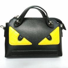 Spesifikasi Mini Fashion Baru Tas Wanita Messenger Tas Mata Wanita Monster Shoulder Bags Wanita Desainer Ternama Channel Tas Tangan Intl Baru