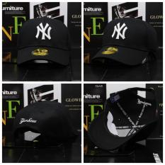 Toko Model Logo Ny New York Amerika Snapback 9 Fifty Topi Baseball Hip Hop Cap Hitam International Tiongkok