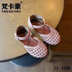 Harga Baru Fashion Putri Sandal Anak Tenun Sepatu Bayi Pink Intl Fankahao Ori