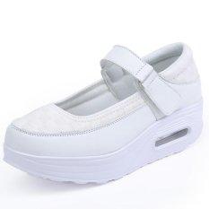 Tips Beli Baru Fashion Wanita Sepatu Kasual Jalan Sepatu Manis Her Datar Sepatu Kasual Women Street Sepatu Manis Flat Sepatu Intl Yang Bagus