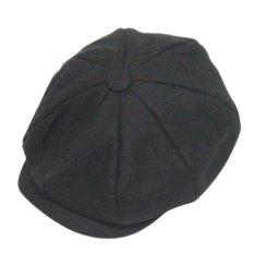 Harga New Fashion Winter Vintage England Style Octagonal Cap Outdoor Duckbill Flax Hat Peaked Hats Newsboy Cabbie Flat Cap Caps Black Intl Tiongkok