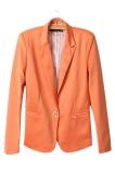Beli Baru Fashion Wanita Permen Warna Mantel Dasar Slim Suit Jaket Blazer 6 Warna Cicilan