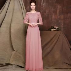 new-fashion-women-ladies-34-sleeve-lace-floral-patchwork-hollowout-high-waist-maxi-party-banquet-slim-chiffon-long-dress-intl-1453-16988521-baf00e88c43aa7ac26637f84ff8687c4-catalog_233 Kumpulan Daftar Harga Gaun Pesta Muslim Dari Bahan Sifon Terlaris minggu ini