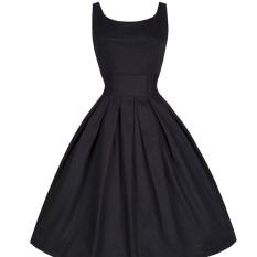 Perbandingan Harga New Fashion Women Vintage Style Sleeveless Cocktail Ball Gown Dress Intl Oem Di Tiongkok