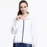 Review Terbaik Baru Fashion Wanita Kolam Pria Kulit Perlindungan Anti Sun Protection Factor Guards Uv Proof Mantel Jaket Putih 0152