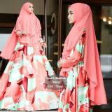 Spek New Gamis Syari Maxmara Lux Motif Abstrak Nara Jawa Barat