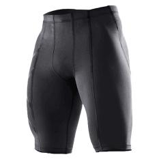 Jual Cepat Baru Olahraga Pakaian Pria Pria Celana Motif S Bang Bang Pendek Ketat Kompresi Olahraga Black Pants Bang Pendek Bola Keranjang