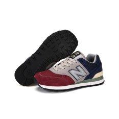 Diskon Baru Hot Sale Pria Nb 574 Klasik Running Shoe Pria Nb 574 Core Plus Sepatu Sneaker Modis Leisure Gerakan Sepatu Sepatu Pria Retro Berlari Sepatu Olahraga Shoes Intl