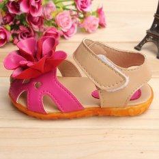 Jual New Anak Baby Flat Sandal Gadis Balita Summer Putri Bunga Lembut Sepatu Intl Branded Original
