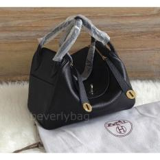 New Koleksi Terbaru Jual Tas Hms Lindy Leather Mirror - Black Ghw