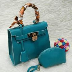 New Koleksi Terbaru Tas Wanita Kelly Mini Taiga Set Tas Kerja Tas Import Murah Berkualitas
