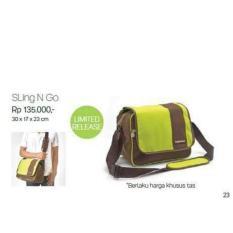 New Koleksi Terbaru Tupperware Sling N Go Bag