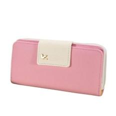 Toko A Korea Baru Premium Long Dompet Wanita Dompet Pink Lengkap Di Tiongkok