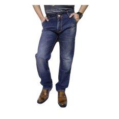 New Lion's (Sebelumnya New Lois) Celana Panjang Jeans Pria Impor (Blue Dark)