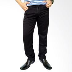 New Lois Celana Panjang Jeans Pria Original - Black