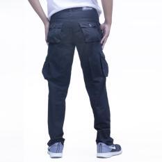 Promo Toko New Long Cargo Short Black