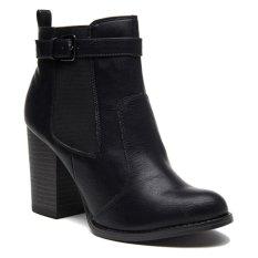 Jual New Look Edward Chelsea Strap Boots Hitam New Look Ori