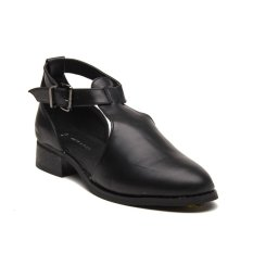 Jual New Look Jump High Vamp Buckle Up Shoe Hitam New Look Asli