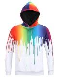 Spesifikasi Tampilan Baru Paint Splash Cetak Lengan Panjang Hoodie Untuk Pria Intl Dan Harganya