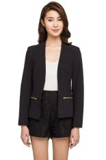 Ulasan New Look Scalett Crepe Suit Jacket Hitam