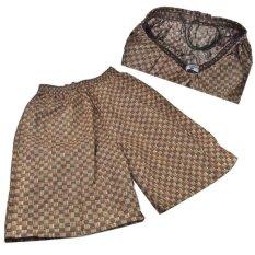 New Pria Kasual Celana Pantai Shorts Berenang Celana (Apricot)-Intl