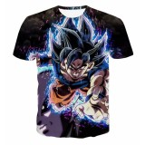 Ulasan Mengenai New Men T Shirt 3D Printing Seven Dragon Ball Casual Short Sleeved Male Loose Jacket Men S Clothes Intl