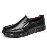 Promo Baru Pria Comfort Plus Velvet Sepatu Tebal Hangat Solid Warna Bisnis Kasual Kulit Kapas Sepatu Intl