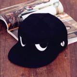 Jual Beli Online Baru Pria Wanita Adjustable Baseball Cap Black Mata Snapback Hip Hop Hat Intl