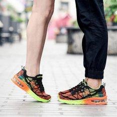 Baru Pria/wanita Light Mesh Sepatu Lari Super Marathon Cross Training Free Outdoor Bernapas Sepatu Atletik Air Menjalankan Jogging (Orange) -Intl