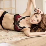 Harga New Model Push Up Bra Atau Bra Set S*xy Red Black Import Eos 010 Asli Multi